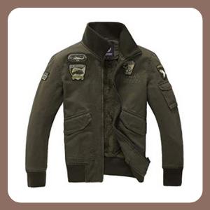 Chamarra TDA tácticas militares para hombre, con insignia de la Fuerza Aérea