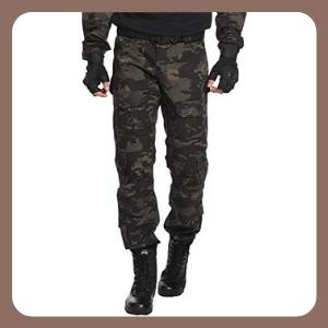Pantalones SIGAWN tácticos para Hombre Impermeables Ripstop Cargo