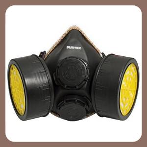 Mascarilla Surtek 137352 Respirador 2 Filtros