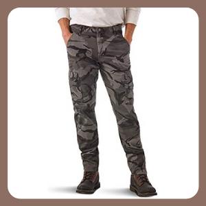 Pantalones para Hombre Wrangler Carga cónica Regular