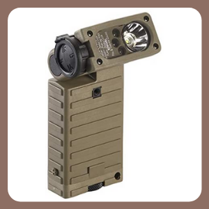 Linterna táctica militar Streamlight 14032 Sidewinder con cabeza articulada