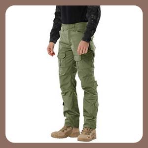 Pantalones SIGAWN Militares tácticos con Bolsillos Trabajo Impermeables