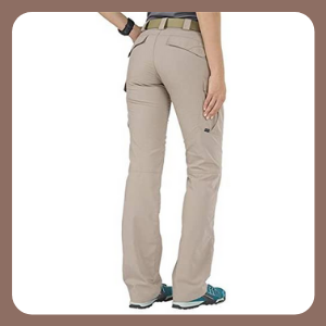 Pantalones Tactical Stryke Covert Cargo para Mujer, Tela elástica