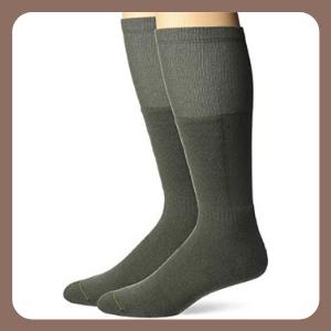 Calcetines Jefferies Socks Militar Ultra-Dri Cojín frontal táctico sobre la pantorrilla, 2 unidades