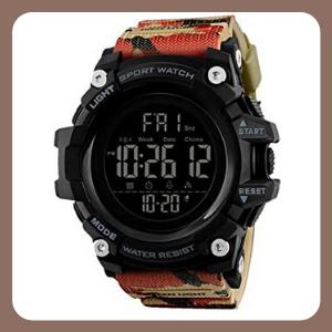Reloj Redlemon Deportivo Militar para Hombre, Resistente al Agua, Correa Ajustable, Modelo 1384