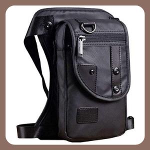 Riñonera Hebetag Drop Leg Bag Bolsa para Hombres Tactical Militar