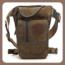 Riñonera Hebetag Canvas Drop Leg Bag para Hombres Tactical Military